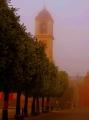 """Civita Di Bagnoregio, Italy """"Strollin' in a Fog"""""""